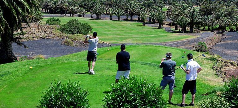 La composition d'un parcours de golf