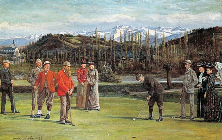 Le plus vieux golf d'Europe continentale se trouve à Pau